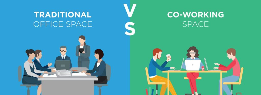 Why people prefer co working space over traditional office?
